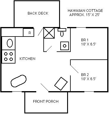 Hawaiian floor plan